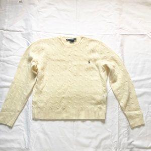 Ralph Lauren Sport Women's Sweater 100% Lambs Wool